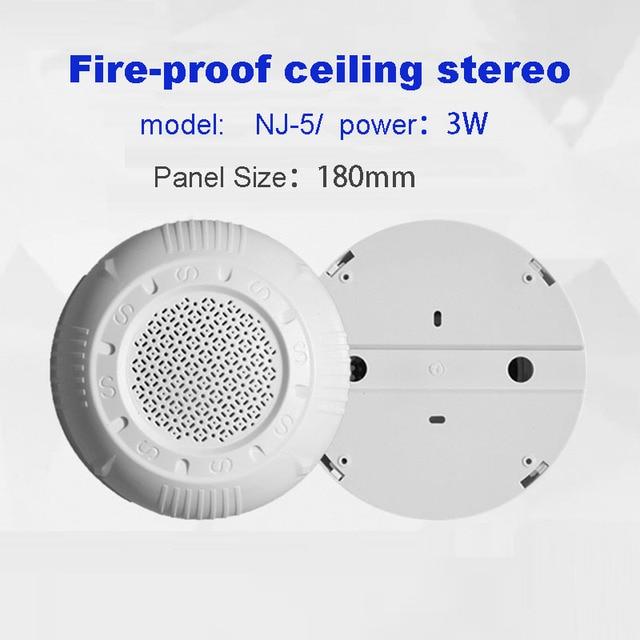 2019 Wholesale Durable 5.5 inch Ceiling Sound Pressure Horn Background Music Public Broadcasting Radio Loudspeaker Tools