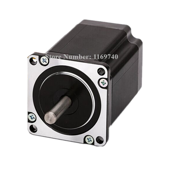 Free shopping nema 23 Stepper Motor 425oz-in, 2 phase, 57BYGH115-003B CNC Mill Cut Engrave wantai new sale cnc 3 axis nema 23 stepper motor 57bygh115 003 425oz in driver dq542ma 128mic 50v 4 2a engraving