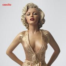 1/4 Escala Blondes Marilyn Monroe Estátua pvc Sexy Figure Collectible Modelo Toy 42 cm