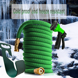 Image 2 - 50ft 1 set of new high quality garden hose automatic telescopic magic hose gardening tools and equipment 8 function water gun