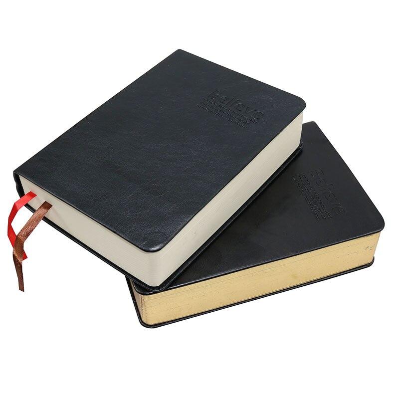 caderno de papel grosso do vintage bloco de notas de couro biblia livro diario zakka diarios