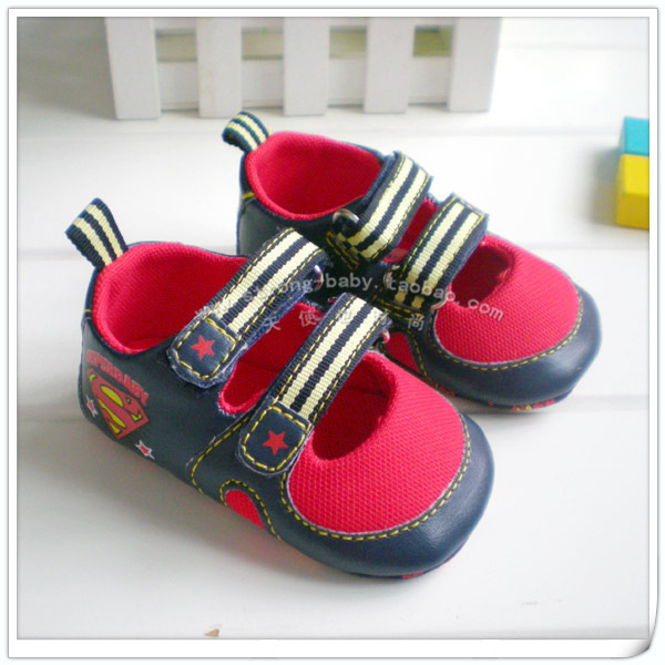 Spring and summer red baby shoes baby indoor shoes