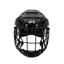2019 GY Free shipping Improving Perfect Version Ice Hockey Helmet Steel Mask Equipment With Cage Combo Mix Size And Black Color 2017 ce approval protection gear ice hockey helmet combo cage visor mask face shield anti fog