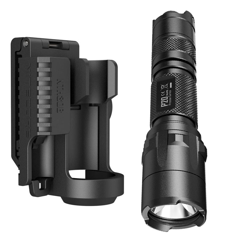 LED Flashlight NITECORE P20 CREE XM-L2 (U2) LED max. 800LM beam distance 210 meter outdoor torch + NTH30B Mount Holder holster flashlight nitecore ec20 cree xm l2 u2 led max 960 lumen beam distance 222 meter torch 18650 3500mah battery new i2 charger