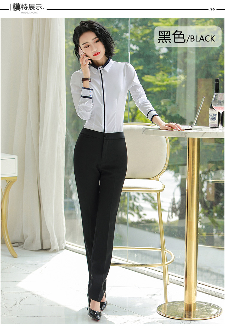 HTB1qVHnalr0gK0jSZFnq6zRRXXa5 - Autumn Business Casual Long Trousers Women Solid Black Blue Red Formal Pants Office Ladies Work Wear Straight Suit Pant 4XL