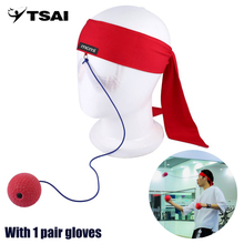 TSAI Fight Ball Decompression Boxing Equipment Apparatus Boxing Trainer Ball Gym Speed Training Boxing Punch Combat Free Ship
