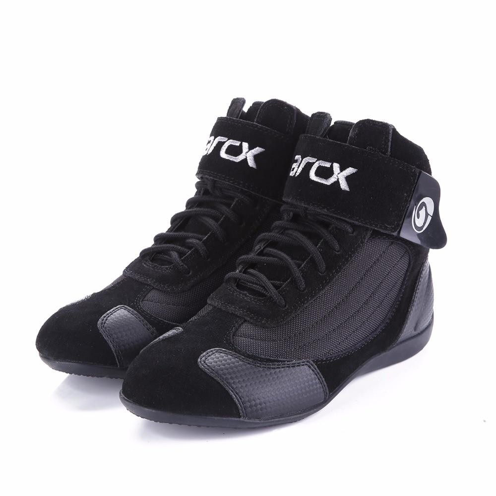 d3135572528 ARCX motocicleta transpirable botas Moto protección Moto Biker gira bots  zapatos para hombres y mujeres de verano de recreo
