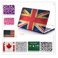Laptop Patroon Ontwerp Matt Hard Case Rubberen Cover Skin Voor MacBook Air 11 13 Macbook A1370/A1466/A1369/A1466