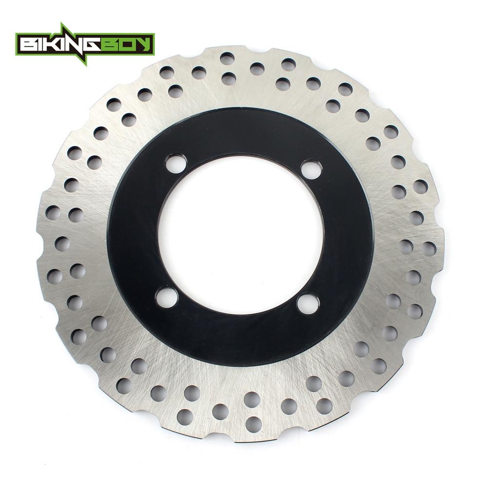 BIKINGBOY Rear Brake Disc Rotor For SUZUKI RG125 RG 125 RGV250 TV 200 250 Wolf GSXR 250 400 GSXR250 GSXR400 R S 88 89 90 91 92-