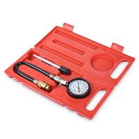 Auto Engine Pressure Tester Kit Car Petrol Gas Engine Cylinder Compression Gauge Test Car Repair Auto Engine Diagnostic Tools
