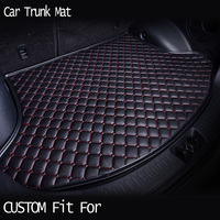 car ACCESSORIES Custom fit car trunk mat for Volvo C30 S40 S80L V40 V60 XC60 XC90 ar styling heavy duty tray carpet cargo liner