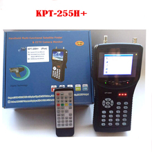 [Genuine] kpt-255h plus kpt 255+ sat finder hd test cctv camera lcd backlight button 4.3 inch DVB-S/S2 signal test with av usb