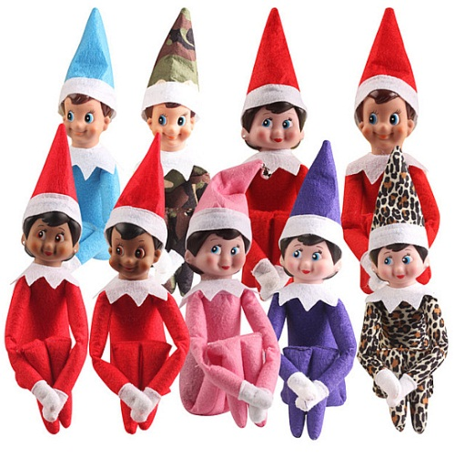 Fashion Christmas Santa S Little Helper Elf Doll Face Glue