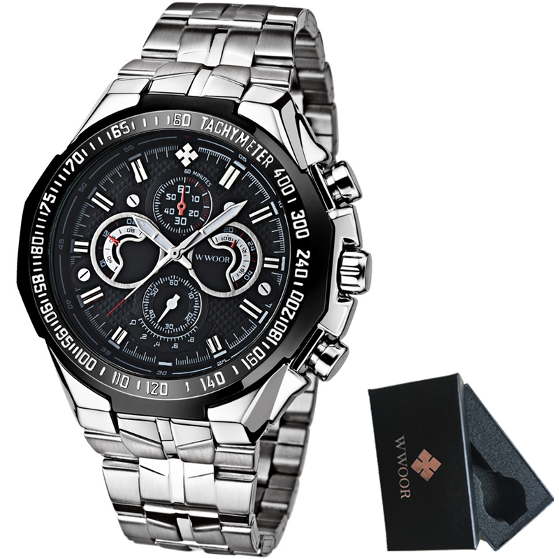 Luxury Brand Men's Casual Quartz Watch Men Waterproof Military Sport Watches Male Stainless Steel Wrist Watch Relogio Masculino