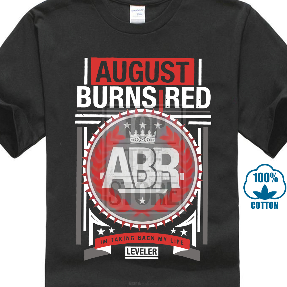 OFFICIAL August Burns Red Housefire T Shirt Mens Blue S L XL XXL