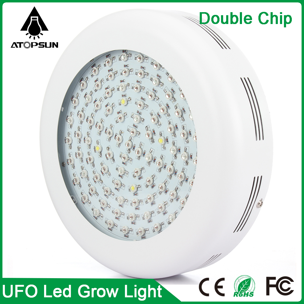ФОТО 300W 600W 900W Double Chip UFO Full Spectrum LED Grow Light For hydroponics and indoor plants grow led aquarium led greenhouse l
