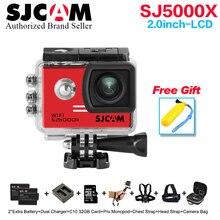 NTK96660 Original SJCAM SJ5000X Elite Gyro Sport Action Camera WiFi 4K 24fps 2K 30fps Diving 30M Waterproof SJ CAM Sports DV