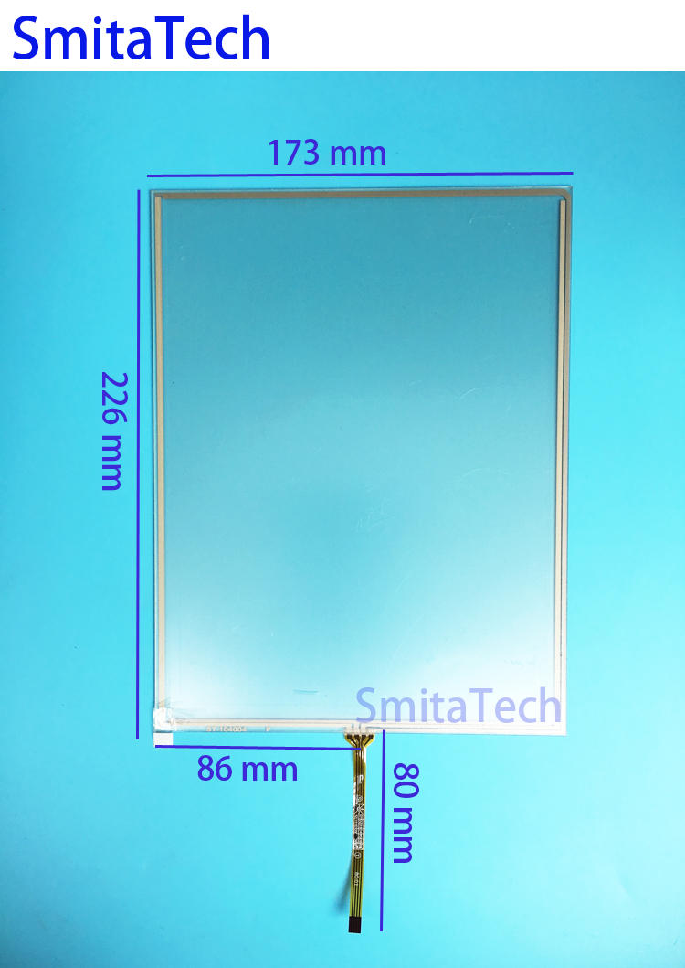 10.4 inch 173mm*226mm 4wire 1423 outlet Resistive Touch screen Digitizer panel ST-104004 226x173mm new 3 5 inch 4wire resistive touch panel digitizer screen for texet tn 300 gps free shipping