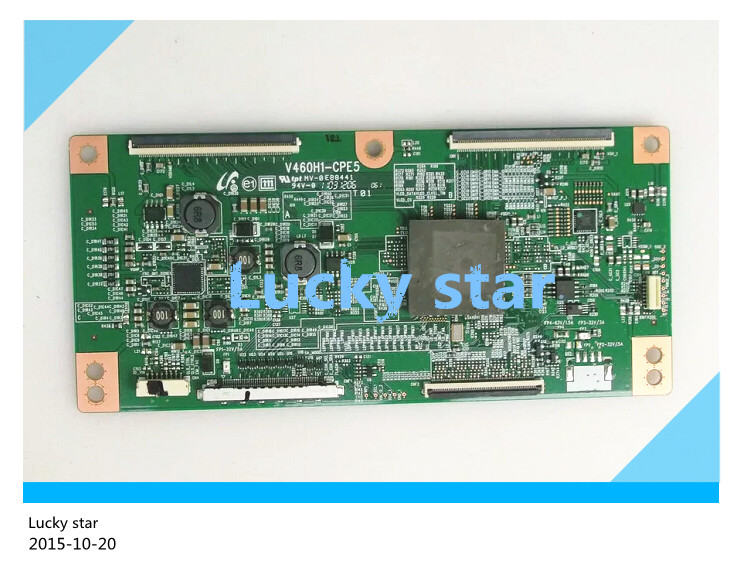 good working High-quality for original 98% new for board KDL-46NX720 V460H1-CPE5 T-con logic board good working high quality for original power board vp2431 vt2430 g t24b u 1 jc240xx61ua 2202141601p board 98