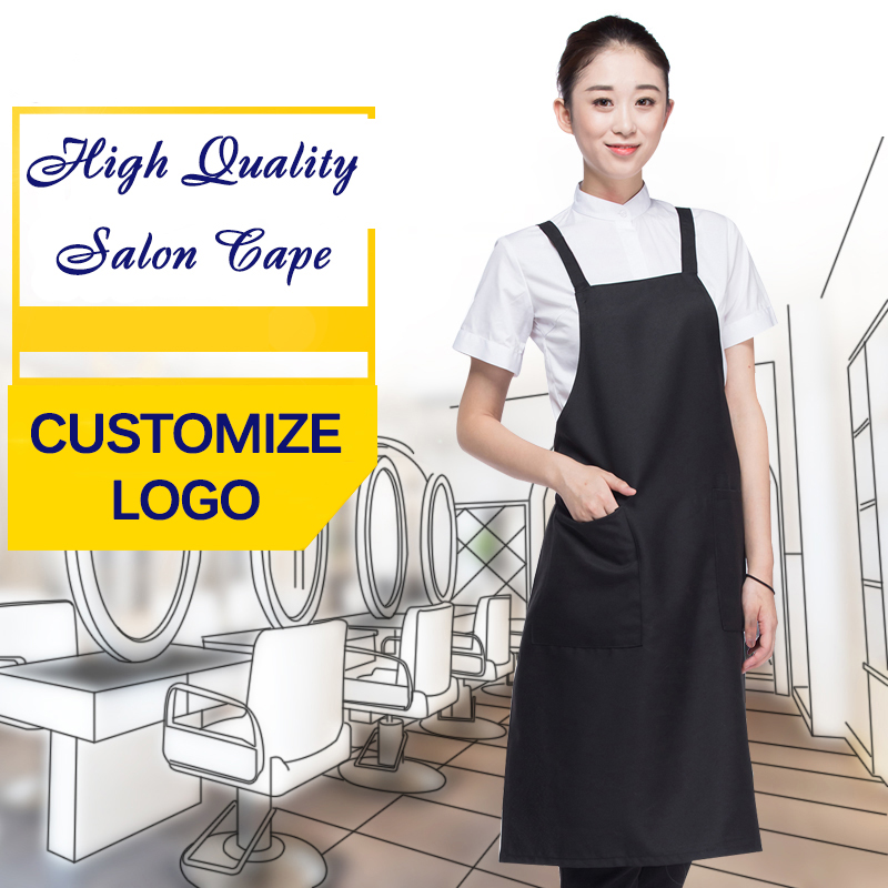 Beauty & Health Hair Care & Styling Professional Anti-static Salon Cape Adjustable Black Bib Apron Uniform With Pockets Hairdresser Gown Barber Stylist Cloth Un818 Unequal In Performance