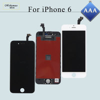 Mobymax 10PCS AAA Quality Display Tela For IPhone 6 4 7 LCD Complete Touch Screen Digitizer