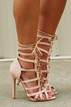 Cheap Strappy High Heels | Tsaa Heel