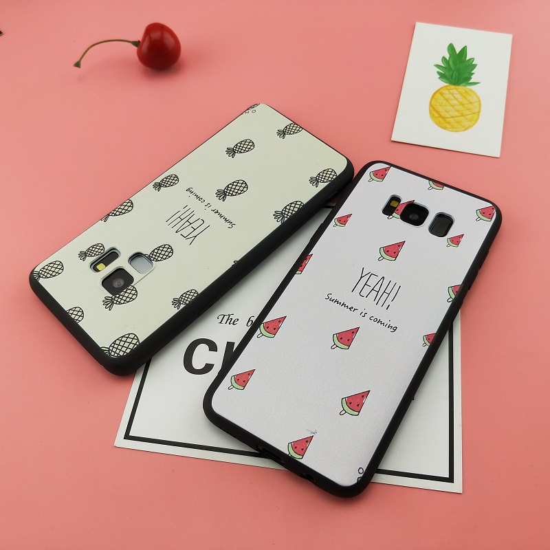 Spring Lemon For Samsung Galaxy S9plus Case Summer is Coming Watermelon Pineapple Fruit Case For Samsung Galaxy S9
