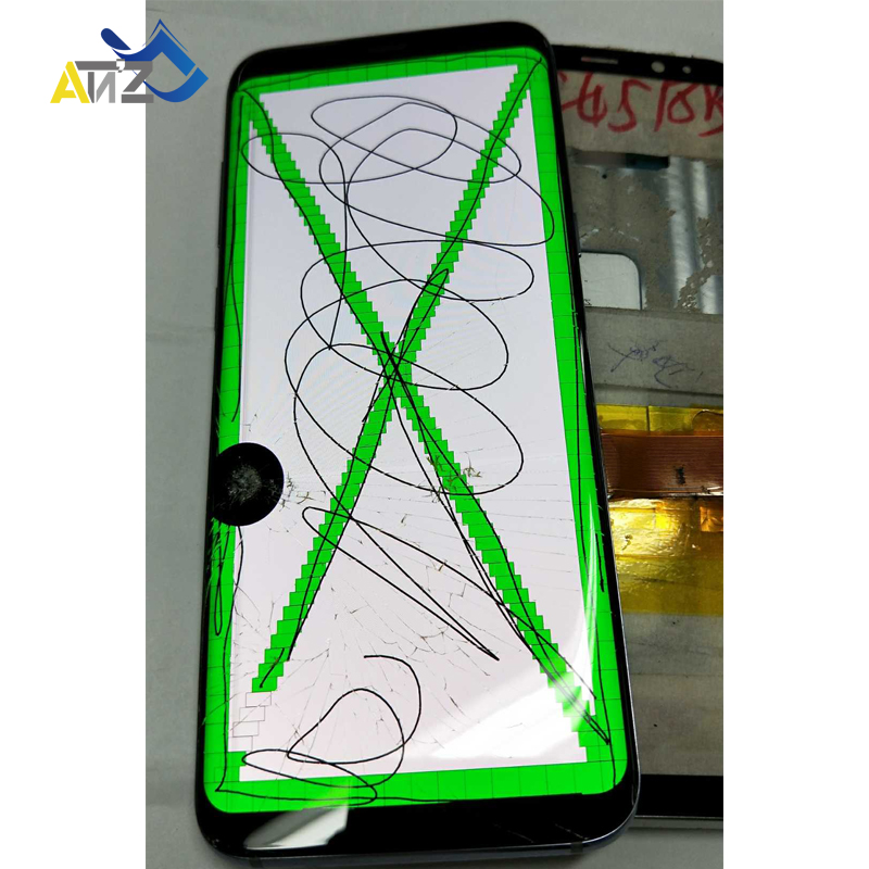 With Frame practice Separate Glass/LCD For <font><b>Samsung</b></font> <font><b>S9</b></font> Edge /<font><b>S9</b></font> Plus /note 9 <font><b>screen</b></font> Touch Well G960/G965/N960 display monitor image
