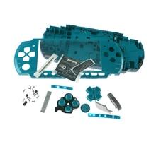 1 zestaw wysokiej jakości dla PSP 3000 PSP3000 powłoka konsoli wymiana pełna obudowa Case z przyciskiem zestawy