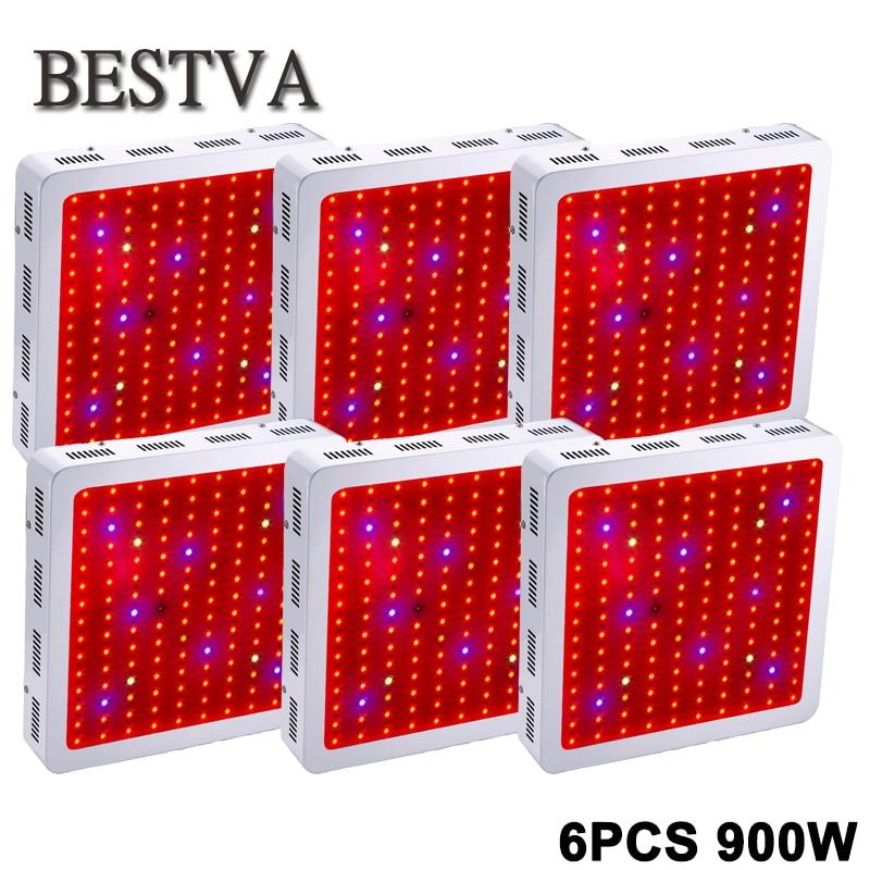 6PCS USA/DE/AU/UK  Stock 3 Year Warranty  Biosun 900W Full Spectrum LED grow light for Medical Flower Plants Grow & Flower 1 year warranty in stock 100