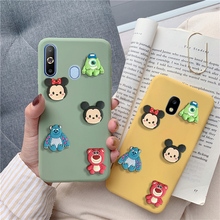cute 3D cartoon mickey minnie case for Samsung Galaxy a8 a9 star lite a5 a7 a3 2017 2016 2018 a9s a8s a6s a6  matte back cover