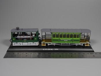 Ho model 1 87 schaal tram G 3/3 (SLM) 1894 Diecast model auto