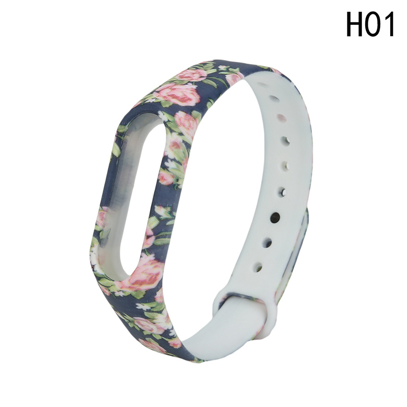 Watchband Silicone Watch Band Replacement Silica Gel Wristband Band Strap For Xiaomi Mi Band 2 Bracelet