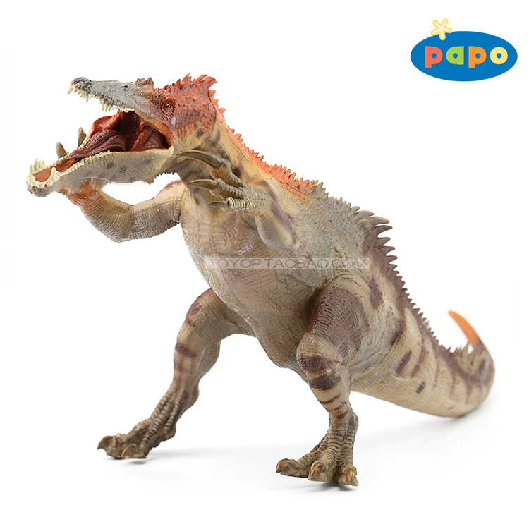 Brand New PAPO Animals Model Toys Baryonyx Dinosaur 31cm Length PVC Action Figure Model Toy For Gift/Kids/Collection/Decoration brand new dc cartoon action figure toys aquaman 24cm pvc classical figure model toy for gift kids collection free shipping
