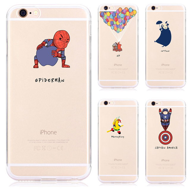 custodia iphone 7 spiderman