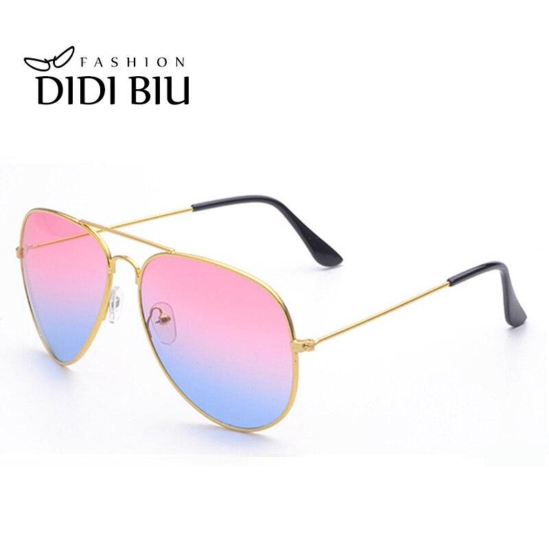 Диди Любители Радуга Солнцезащитные очки для женщин Для женщин Брендовая Дизайнерская обувь Военное Дело Авиатор Очки тонкий Рамка очки гр…