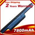 7800 mAh de la batería para Acer Aspire V3 V3-471 V3-551 G V3-571 V3-731 V3-771 para eMachines E732 para TravelMate 4370 4750 G 9 células
