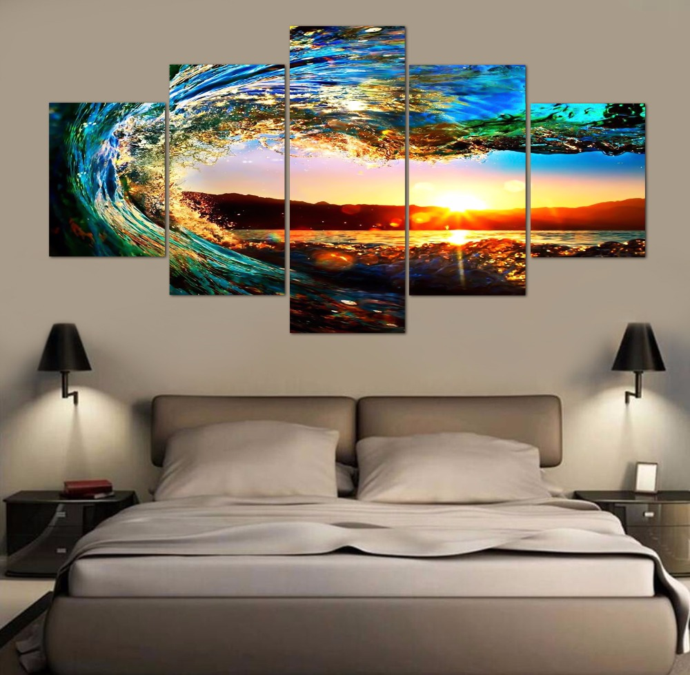 Compare Prices on Canvas Art Wave- Online Shopping/Buy Low Price ...