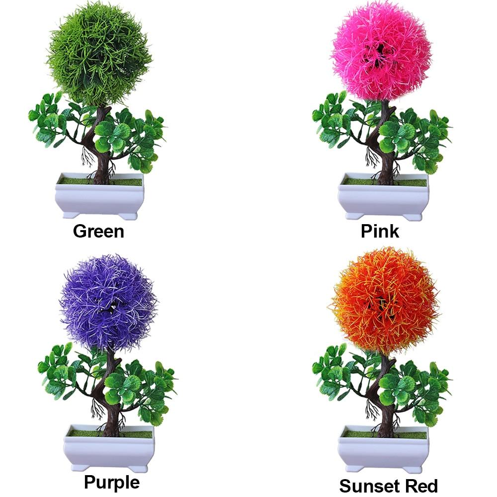 Имитация горшков растения искусственные цветы растение садовое украшение легкий Snapdragon мяч Мода