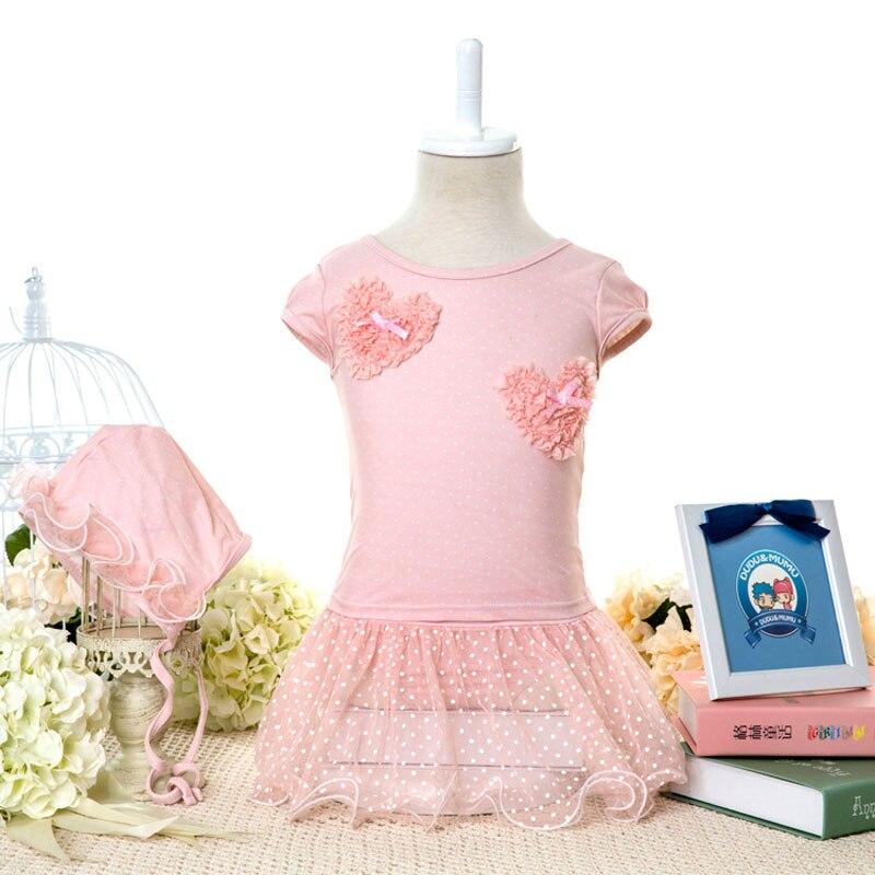 6fc71eb2e2 Envío Gratis 2019 Venta de encaje de poliéster en forma de corazón de los  niños las niñas Bikini traje de niños bebé niña rosa traje de baño