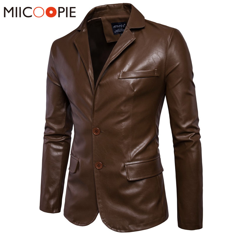 Brand Motorcycle Leather Jackets Men Spring Winter Clothing Leather Jackets Male Casual Leather Business Jacket Men Coats 5XL
