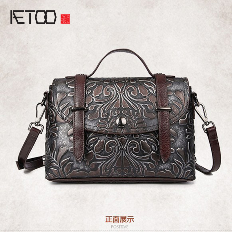 New retro fashion handmade wipe leather small square bag Messenger bag shoulder bag leisure handbagsNew retro fashion handmade wipe leather small square bag Messenger bag shoulder bag leisure handbags