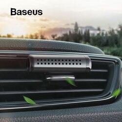 Baseus Purificadores de Ar Do Carro Perfume Clipe tomada Auto Cheiro Fragrância Difusor De Ar Condicionado Perfume Sólido Em Acessórios Do Carro