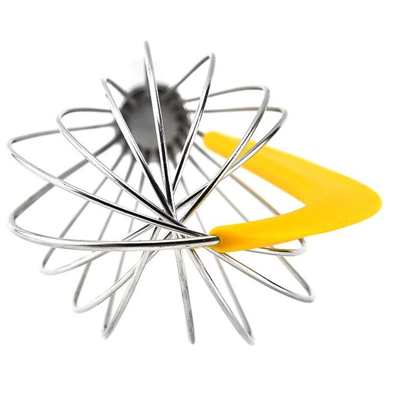 3 шт./компл. с Сепаратор для яиц яйцо колотушки Нержавеющая сталь венчик вращающийся Многофункциональный ручной силиконовый скребок смеситель для перемешивания
