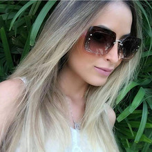 Winla New Women Sunglasses Luxury Brand Designer Sunglasses Fashion Ladies Sunglasses Colorful Frame Gradient Lens Shades UV400