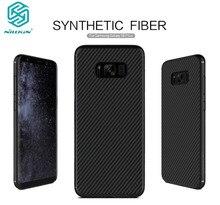 Case cover for s8 plus чехол 6.2 дюймов nillkin синтетического волокна case for samsung s8 plus чехол углеродного волокна pp пластика задняя крышка