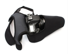 Размер L Неопрена Мягкий Протектор Камеры Сумка Крышка Чехол для Canon Nikon Sony Pentax Olympus DSLR