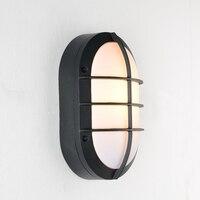 Modern Outdoor Wall Light Waterproof IP54 Porch Aluminum Wall Lamp For Home Garden Decoration Sconce Lighting