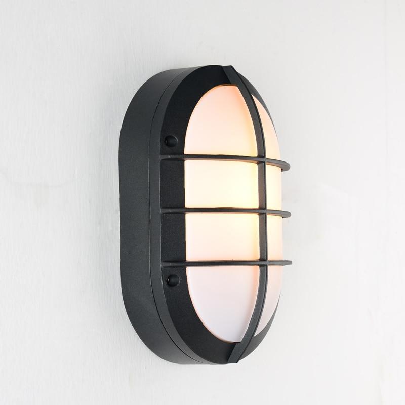 Modern outdoor wall light Waterproof IP54 Porch Aluminum wall lamp for home garden decoration sconce lighting fixture 1115 outdoor porch light waterproof ip54 modern wall lamp for home decoration garden wall sconce lighting fixture wholesale 2pcs lot