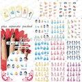 BeautyNailArt 90 Hoja/LOT Hermosa Princesa de Dibujos Animados accesorios de Diseño de uñas Nail Art sticker/nail agua Nail art sistema de desarrollo de CONOCIMIENTOS NAILART